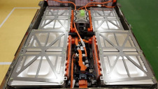 BNEF's analysis covers battery packs from the vehicle size (pictured) to utility-scale arrays. Image: Akio Kon/Bloomberg